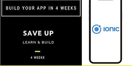 Idea to App in 4 Weeks tickets