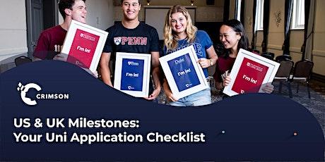 US & UK Milestones: Your University Application Checklist | SG tickets