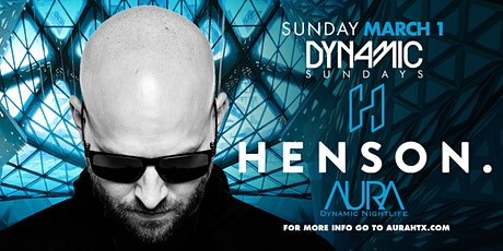 Aura Dynamic Sunday ft. Dj Henson |03.01.20| tickets