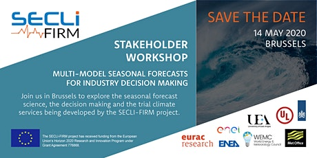 SECLI-FIRM Workshop: Multi-model seasonal forecasts for decision making tickets