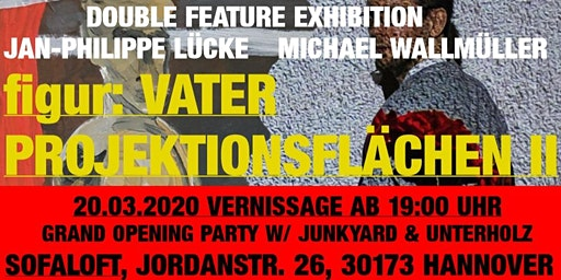 Double Feature Exhibition Vernissage