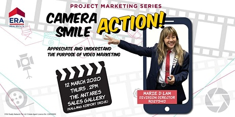 Project Marketing Series: Camera, Smile, Action tickets