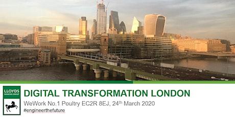 Digital Transformation London tickets