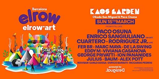 elrow Barcelona  - elrow'art Kaos Garden