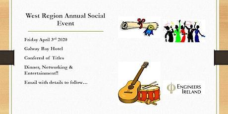 Engineers Ireland West Region Annual Social Event 2020 tickets