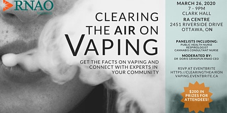 Clearing the Air on Vaping: A Health Symposium in Ottawa tickets