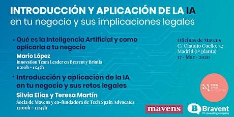 Introducción y aplicación de la IA en tu negocio y sus aplicaciones legales entradas