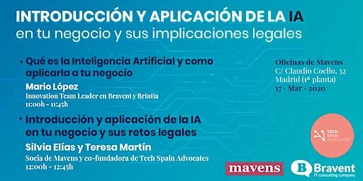 Introducción y aplicación de la IA en tu negocio y sus aplicaciones legales