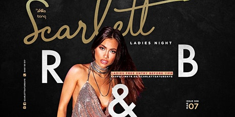 Scarlett R&B Ladies Night tickets