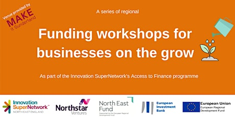 Funding workshop for businesses on the grow - Sunderland tickets