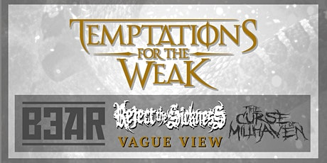 Temptations for the Weak club-tour at JH Comma tickets