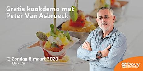 Kookdemo Peter Van Asbroeck op 08/03 - Dovy Turnhout tickets