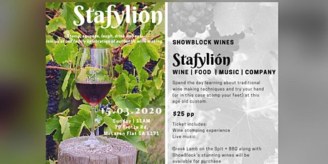 Stafylion Harvest Footstomping &  Lunch tickets