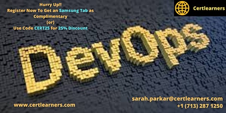 Devops 3 Days Certification Training in Rochester, NY,USA tickets