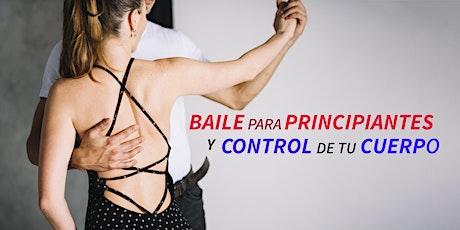Clase de baile para principiantes y control del cuerpo entradas