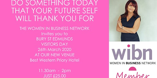 Women In Business Bury St Edmunds - March Visitors Day