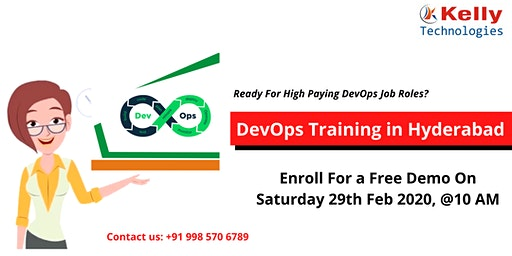 Free Demo On DevOps Training is scheduled on 29th Feb 2020 @ 10 AM in Hyd