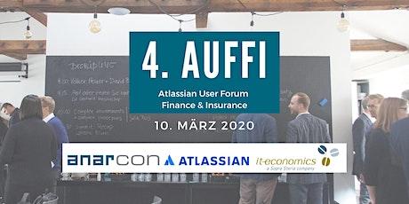Einladung zum 4. ATLASSIAN User Forum Finance & Insurance in München Tickets