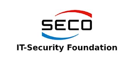 SECO – IT-Security Foundation 2 Days Training in Oldsmar, FL tickets