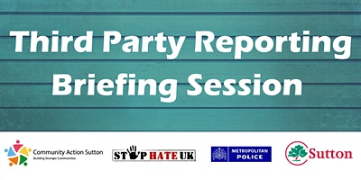 Third Party Reporting Briefing Session