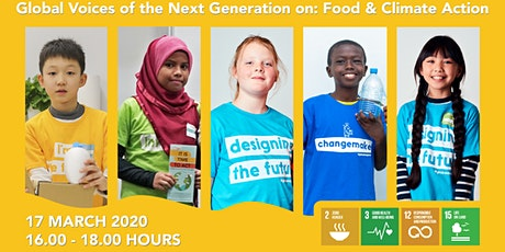 Children presentation report launch: Global Voices of the Next Generation tickets