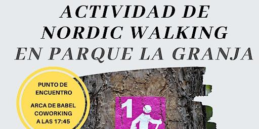 ACTIVIDAD DE NORDIC WALKING EN PARQUE DE LA GRANJA