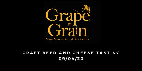Craft Beer and Cheese Tasting (Grape to Grain Prestwich) tickets
