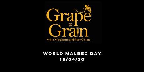 World Malbec Day (Grape to Grain Ramsbottom) tickets