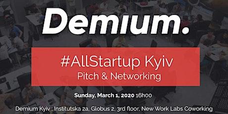 Pitch & Network #AllStartup Kyiv tickets