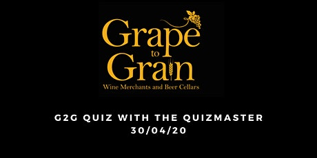 G2G Quiz with The Quizmaster (Grape to Grain Ramsbottom) tickets