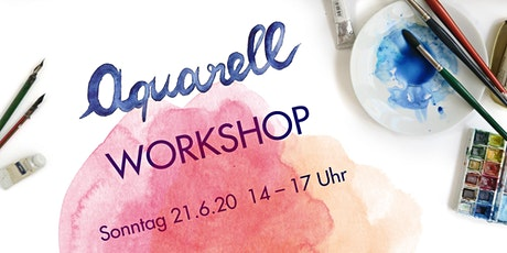 Aquarell Workshop im Westend am 21.6.2020 Tickets