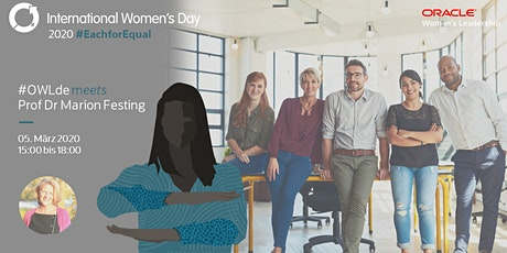 Oracle Women's Leadership: Feier mit uns den Internationalen Frauentag Tickets