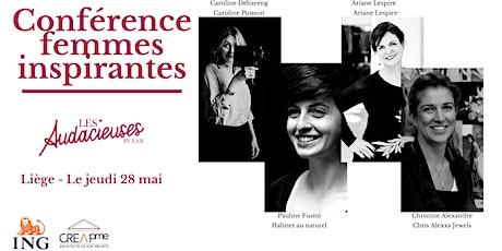 Conférence « Femmes inspirantes : elles ont osé entreprendre » billets