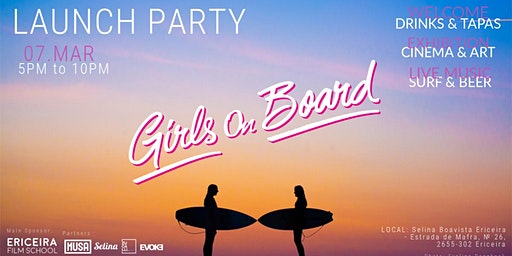 Launch Party Girls On Board - 07. MAR.2020 - Ericeira
