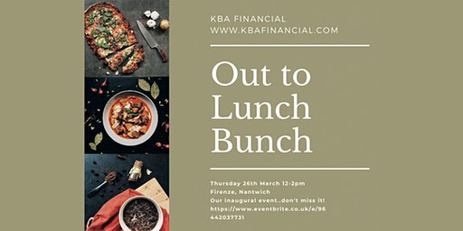 KBA's Out to Lunch Bunch.....Our Inaugural Lunch!