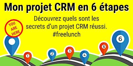 Mon projet CRM en 6 étapes tickets