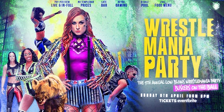 WWE WrestleMania 36 @ Buskers OTB tickets