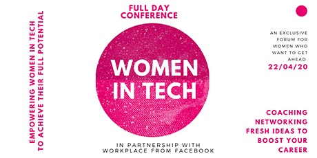 Women in Tech forum 2020 Conference tickets
