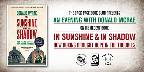An Evening with Donald McRae author of 'In Sunshine & In Shadow' tickets
