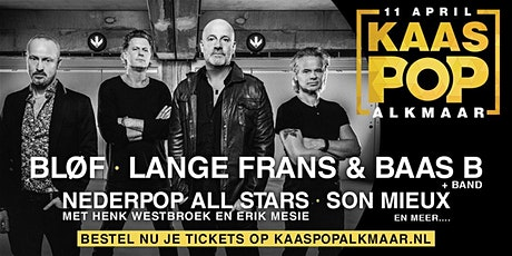 KaasPop Alkmaar 2020 tickets