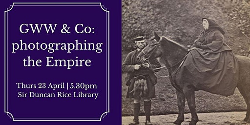 Talk: GWW & Co: photographing the Empire