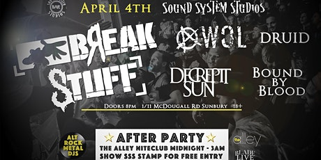 Break Stuff - Sound System Bar tickets