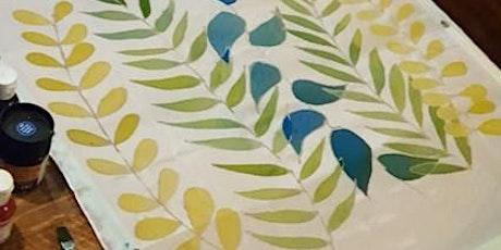 Silk painting tickets