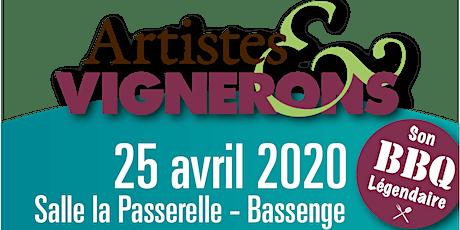 Artistes & Vignerons reçoit Isabelle Hauben tickets