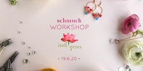 Schmuck Workshop in Schwabing am 19.6.2020 Tickets