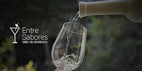 Taller de Destilados Entre Sabores: Cata de tequila. entradas
