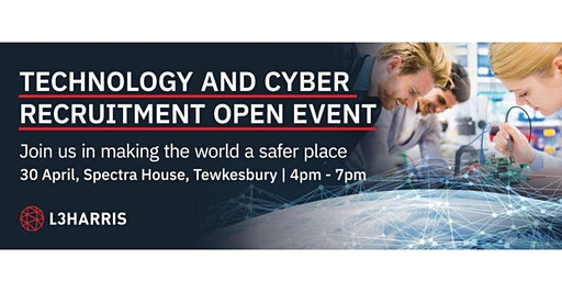 Technology & Cyber Recruitment Open Event