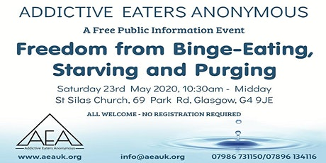 Addictive Eaters Anonymous Free Public Event tickets
