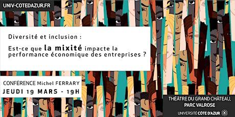 Conférence Michel Ferrary billets