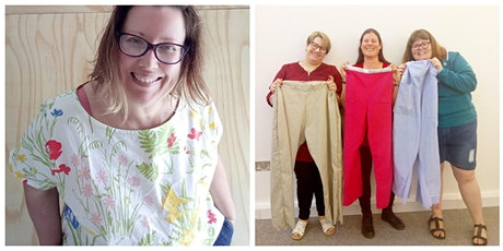 By donation - Make simple upcycled clothes- Top OR Trousers tickets